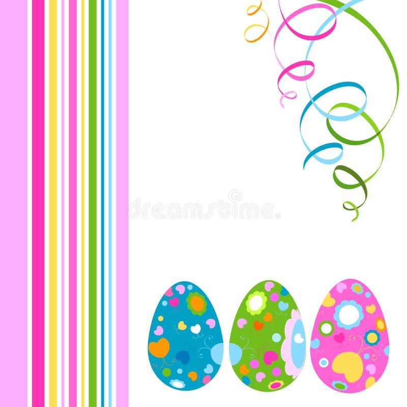 Projeto de Easter ilustração royalty free