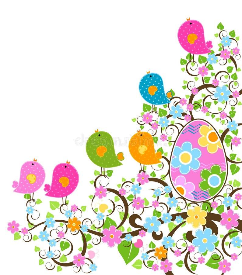 Projeto de Easter ilustração stock