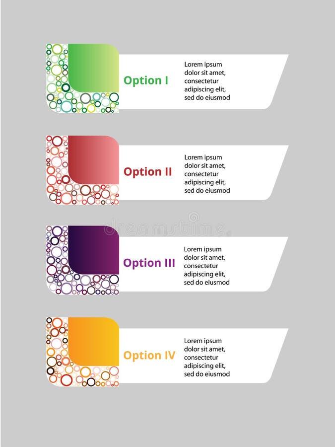 Projeto de Infographic foto de stock