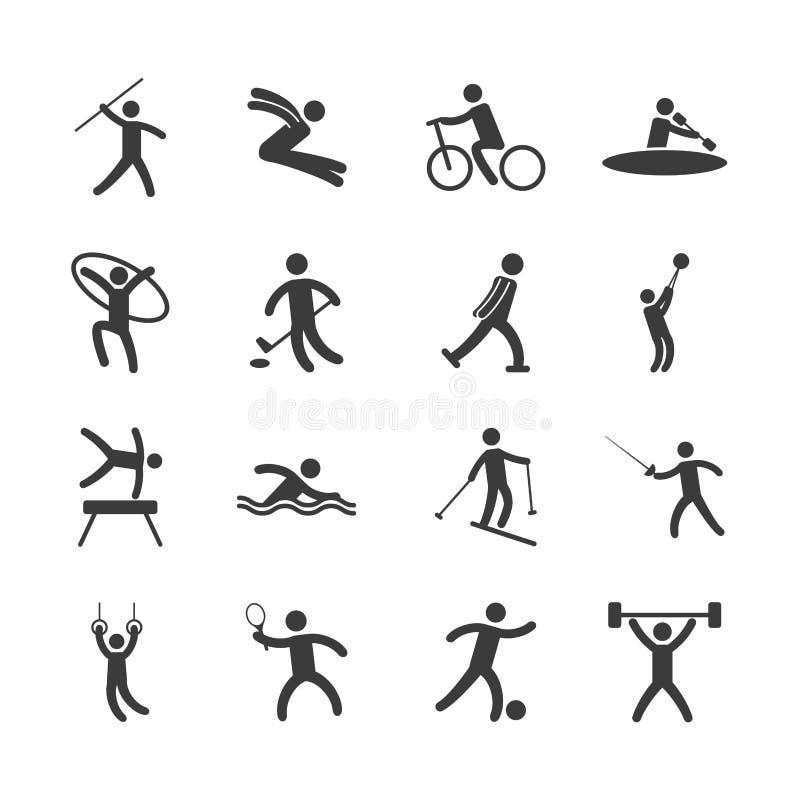 projeto de jogos do olimpics ilustração royalty free