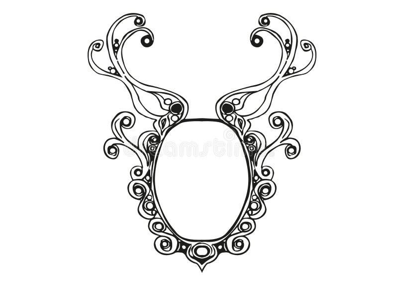 Projeto de Logo Illustration Vetora ilustração royalty free