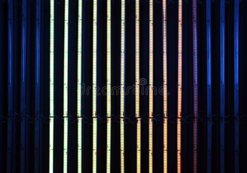 Projeto de néon da iluminação imagens de stock