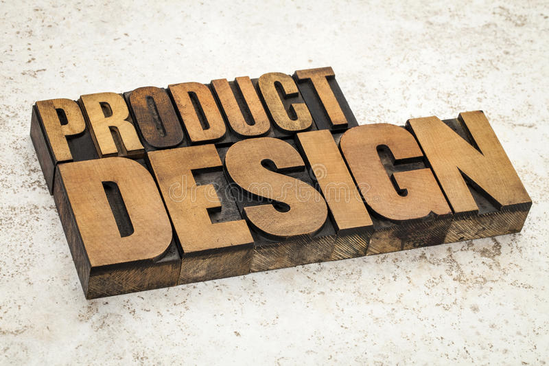 Projeto de produto no tipo de madeira foto de stock royalty free