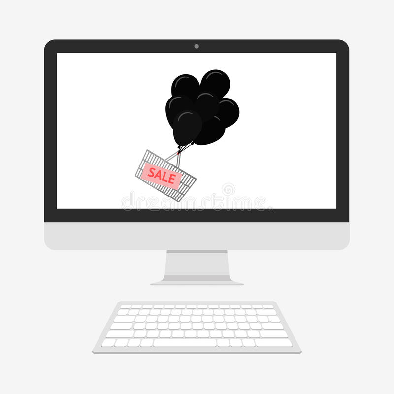 Download Projeto De Segunda-feira Do Cyber Ilustração Stock - Ilustração de preto, projeto: 80101876