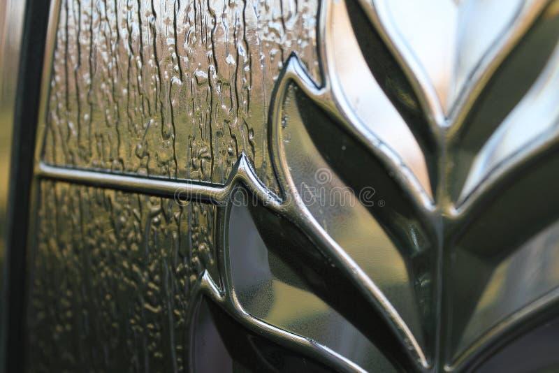 Projeto de vidro abstrato foto de stock royalty free