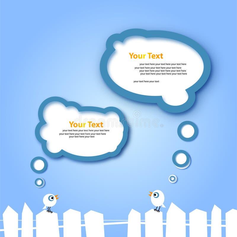 Projeto de Web abstrato ilustração royalty free