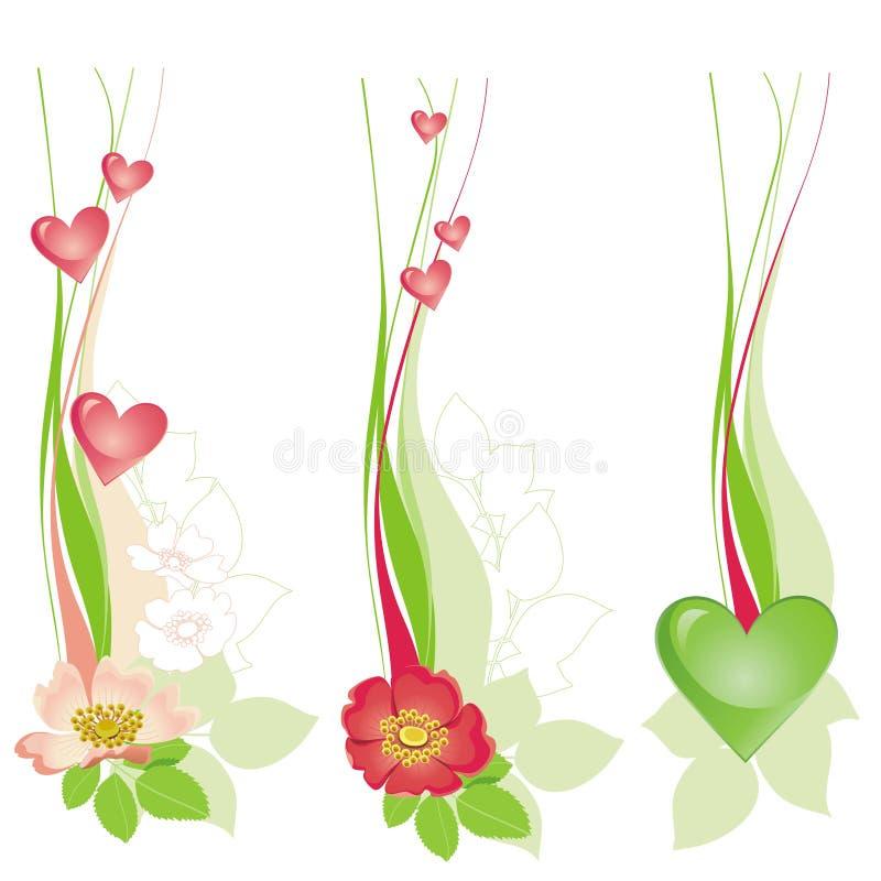 Download Projeto decorativo floral ilustração do vetor. Ilustração de projeto - 12802488