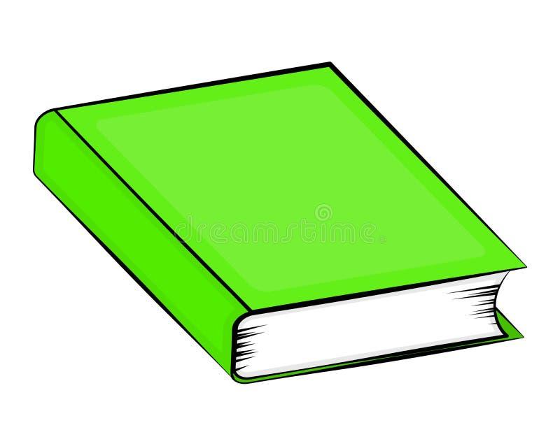 Projeto do ícone do símbolo do vetor dos desenhos animados do livro fechado Illustr bonito ilustração do vetor