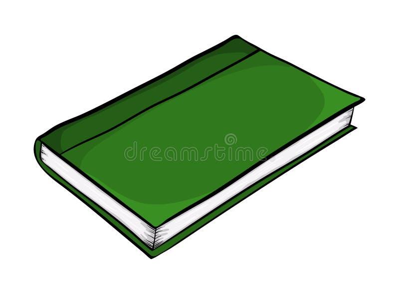 Projeto do ícone do símbolo do vetor dos desenhos animados do livro fechado Illustr bonito ilustração royalty free
