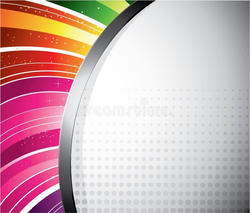 Projeto do arco-íris ilustração royalty free