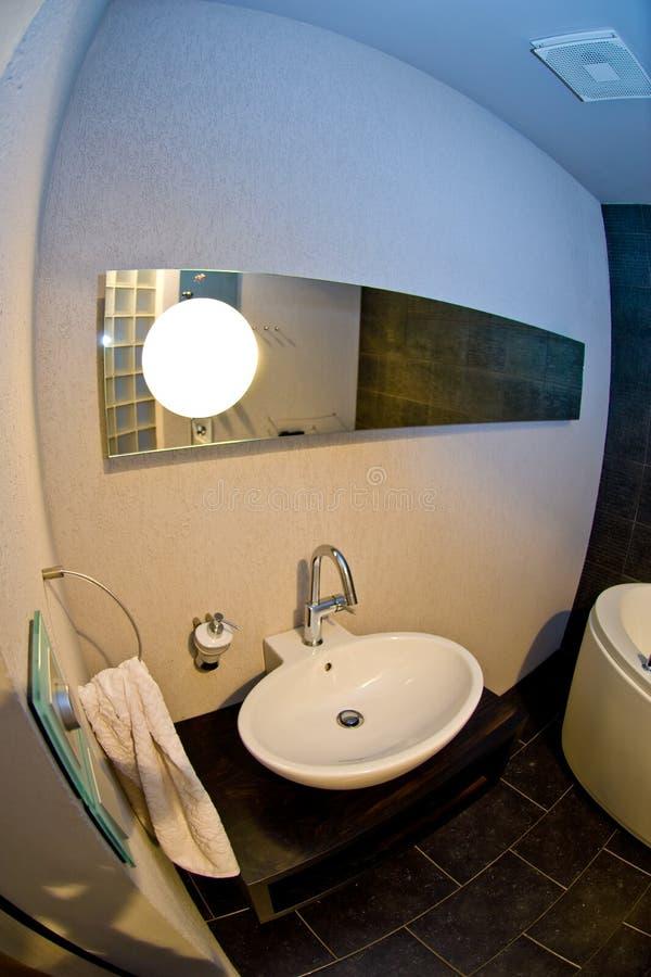 Projeto do banheiro fotografia de stock royalty free