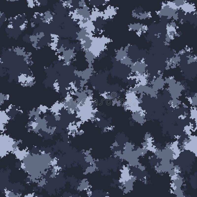 Projeto do camo da forma A cor nubla-se o vetor sem emenda do teste padrão Teste padrão na moda de pano da camuflagem ilustração royalty free