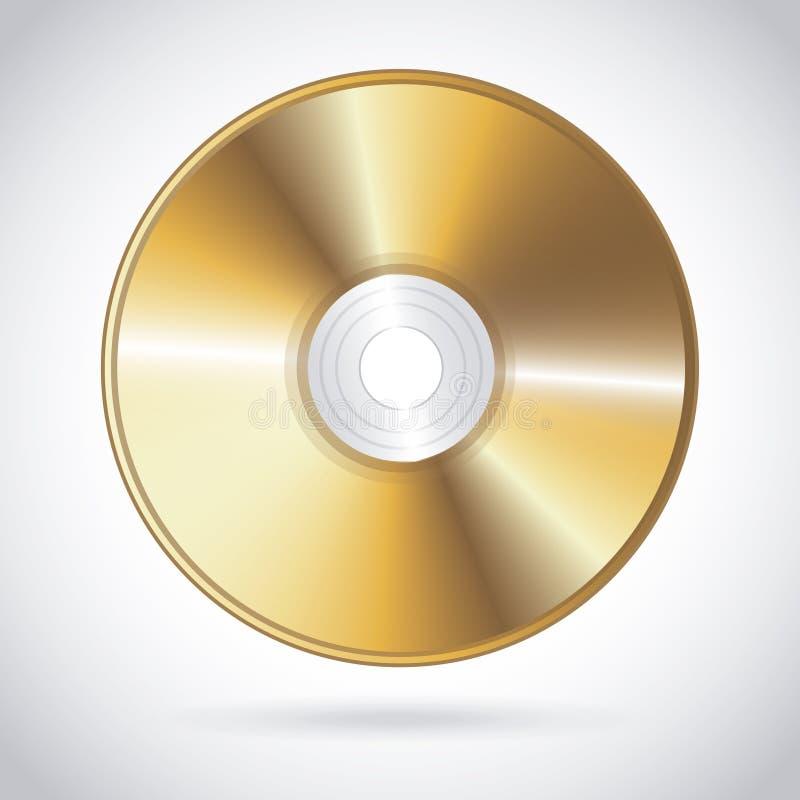 Projeto do compact disc ilustração royalty free