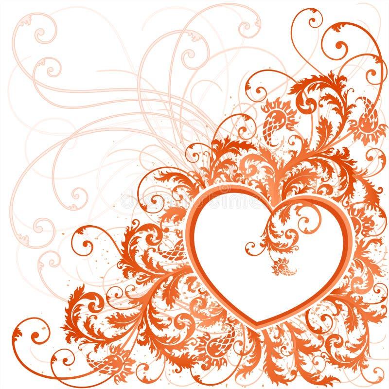 Projeto do dia dos Valentim. ilustração stock