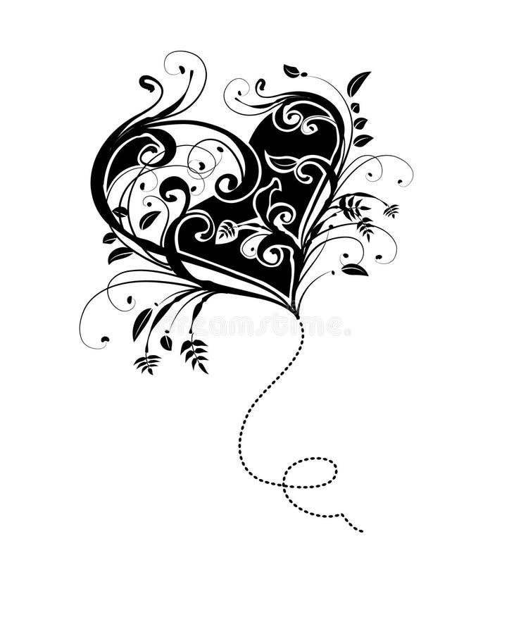 Projeto do dia dos Valentim ilustração royalty free