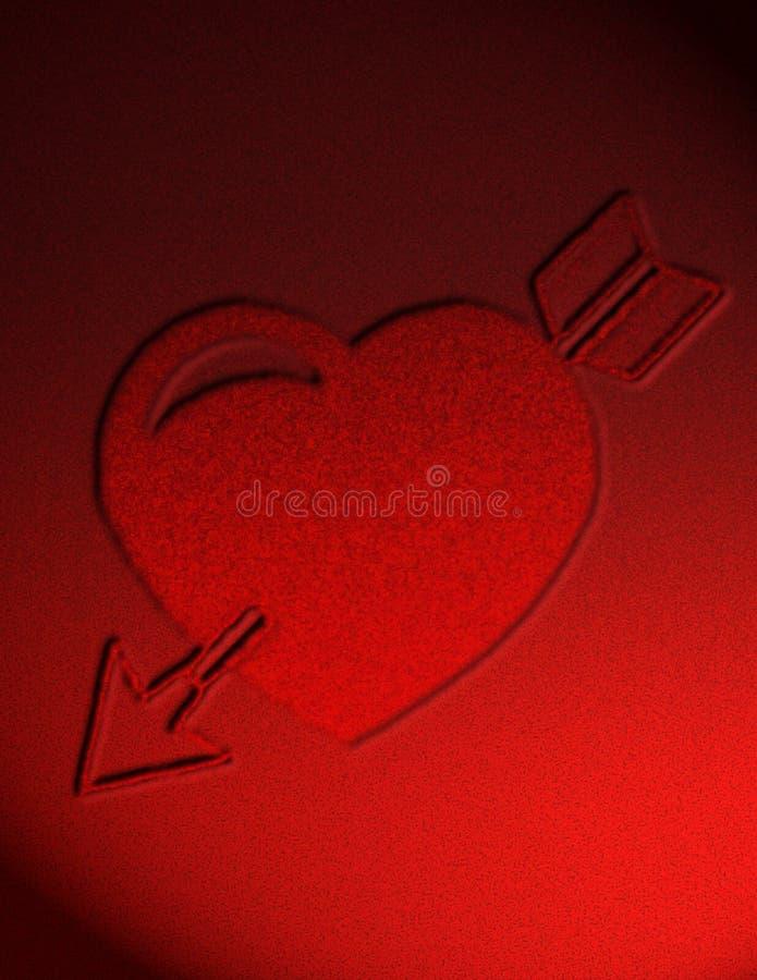 Projeto do dia dos Valentim ilustração stock