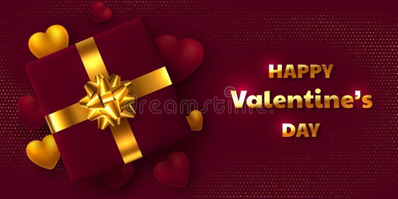 Projeto do feriado do dia de Valentim ilustração stock