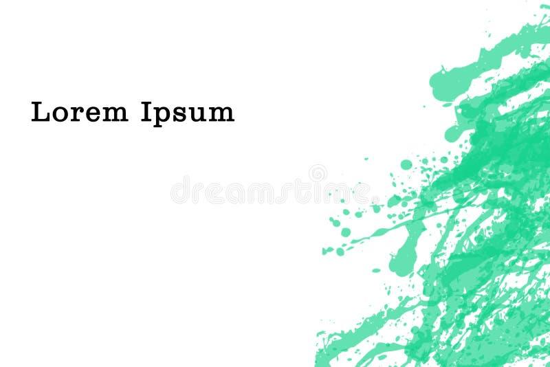 Projeto do fundo da escova, colorido, simples e moderno ilustração stock