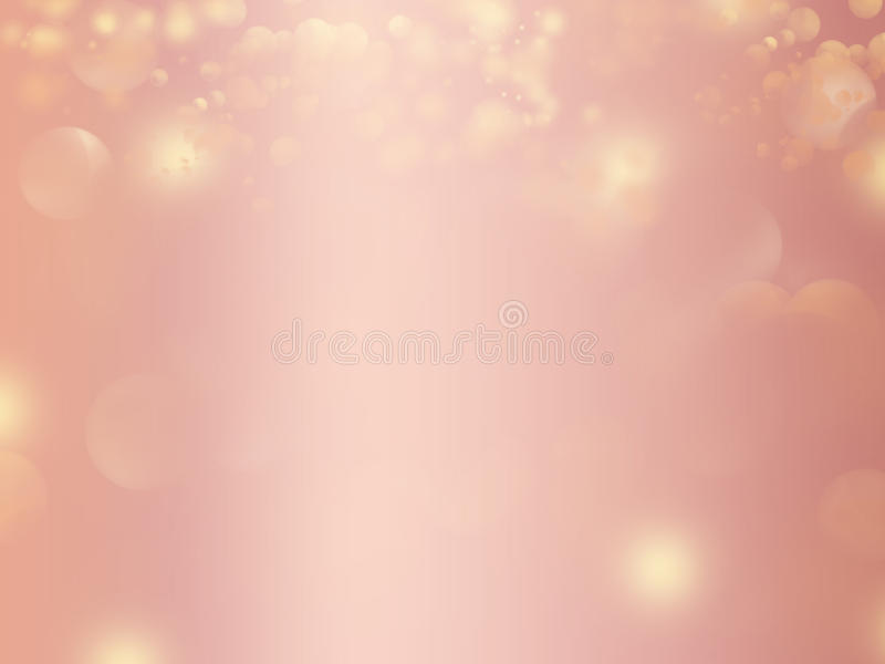Projeto do fundo do sumário do brilho do ouro de Rosa ilustração do vetor
