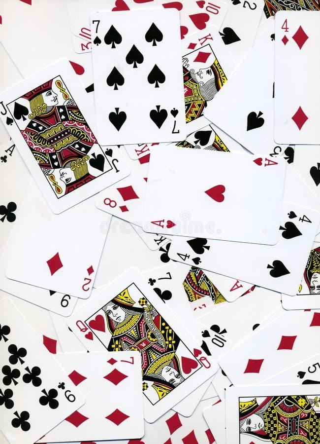 Projeto do fundo dos cartões de jogo imagem de stock
