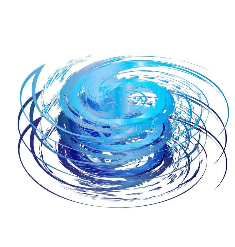 Projeto do furacão ilustração do vetor