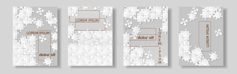 Projeto do inseto, fundo liso do sumário da apresentação da tampa do folheto, moldes de capa do livro, imagem do enigma de serra  ilustração stock