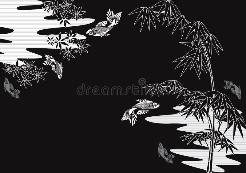 Projeto do japonês ilustração do vetor