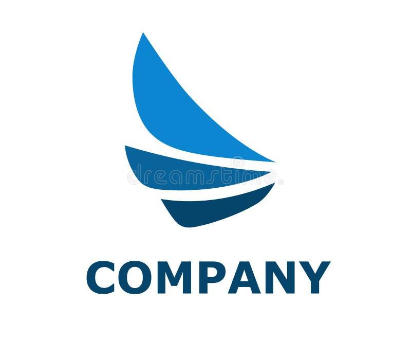 Projeto 3 do logotipo da asa ilustração royalty free