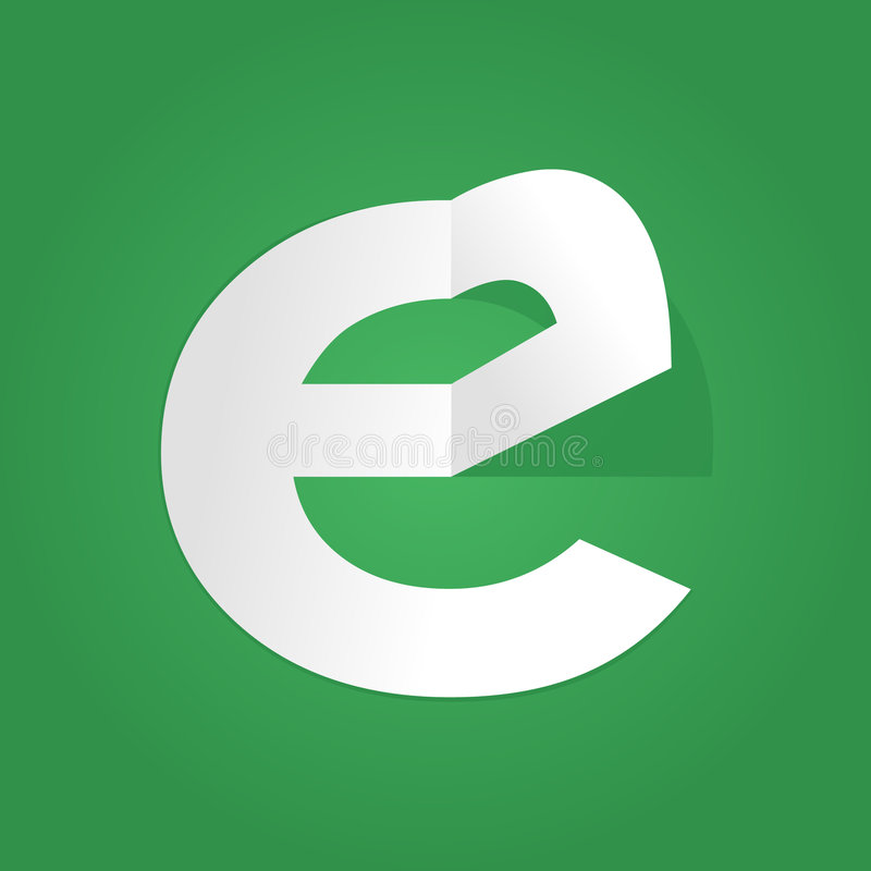Projeto do logotipo do Typography ilustração do vetor