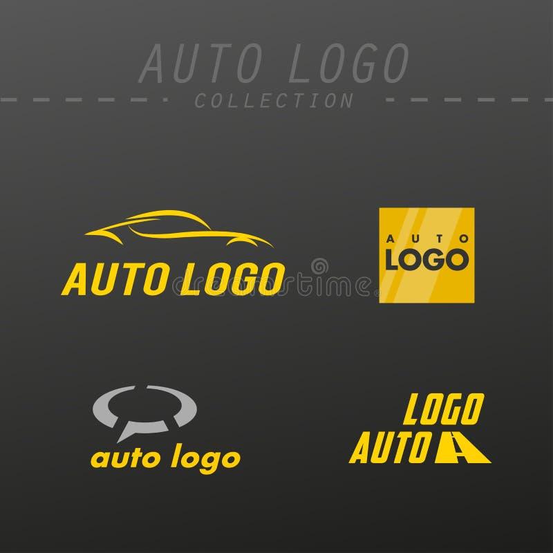 Projeto do logotipo do vetor auto ilustração royalty free