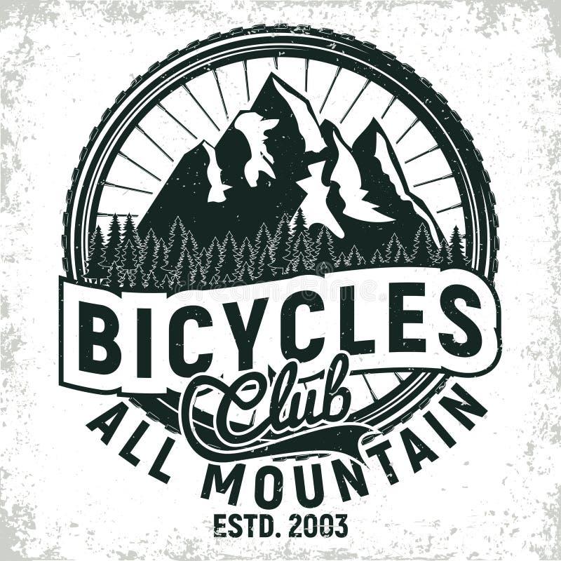 Projeto do logotipo do vintage ilustração stock