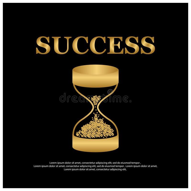 Projeto do molde da ilustração do sucesso para a Web, cartaz criativo, brochura, folheto, inseto, compartimento, cartão do convit ilustração do vetor