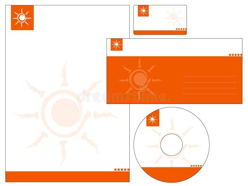 Projeto do molde do cabeçalho - vetor ilustração stock