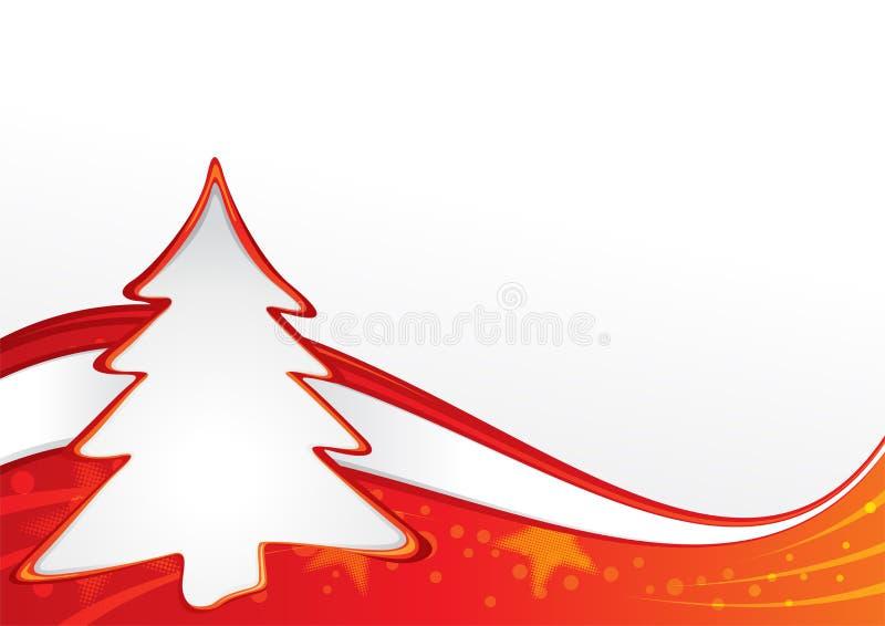 Projeto do Natal ilustração do vetor