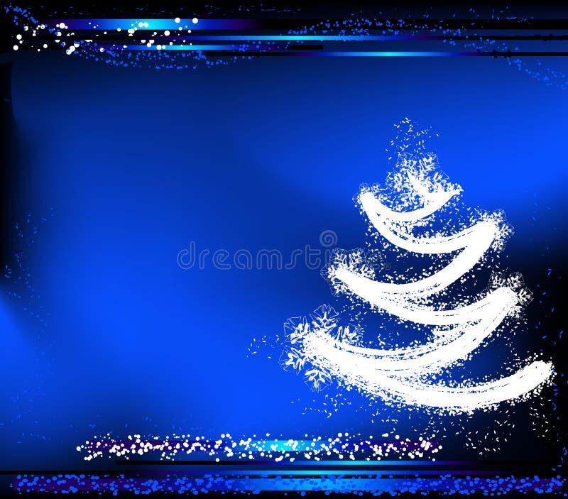 Projeto do Natal ilustração stock