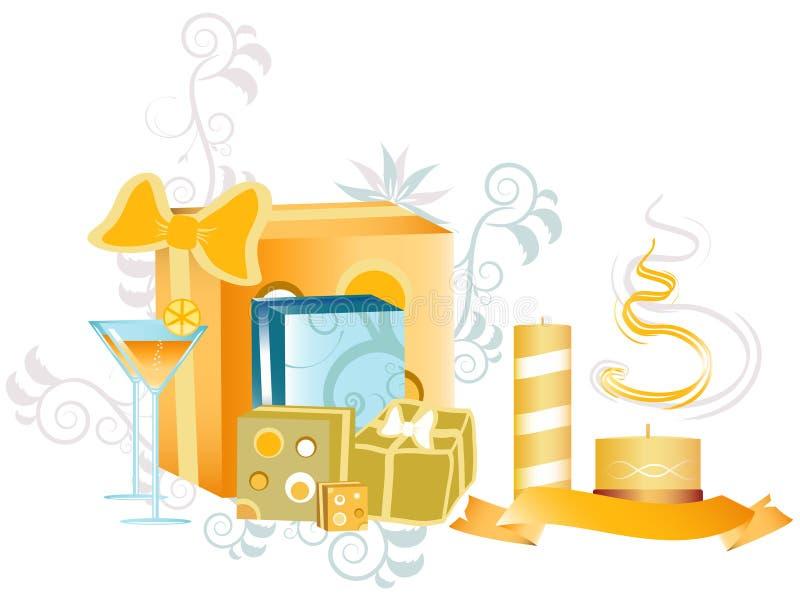 Projeto do Natal ilustração royalty free
