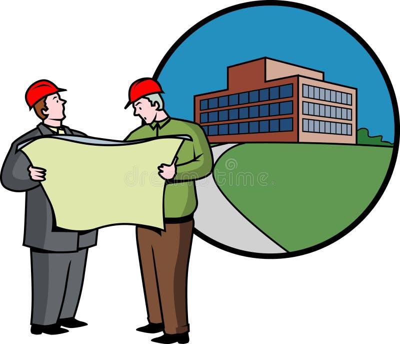 Projeto do negócio ilustração do vetor