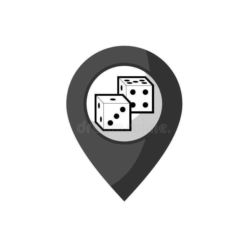 Download Projeto Do Ponto Do Lugar Do Casino Ilustração do Vetor - Ilustração de posição, negócio: 80102592