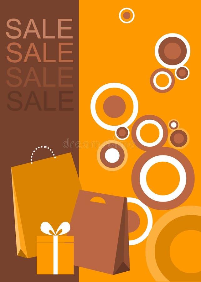 Projeto do poster/insecto para a venda da compra ilustração do vetor