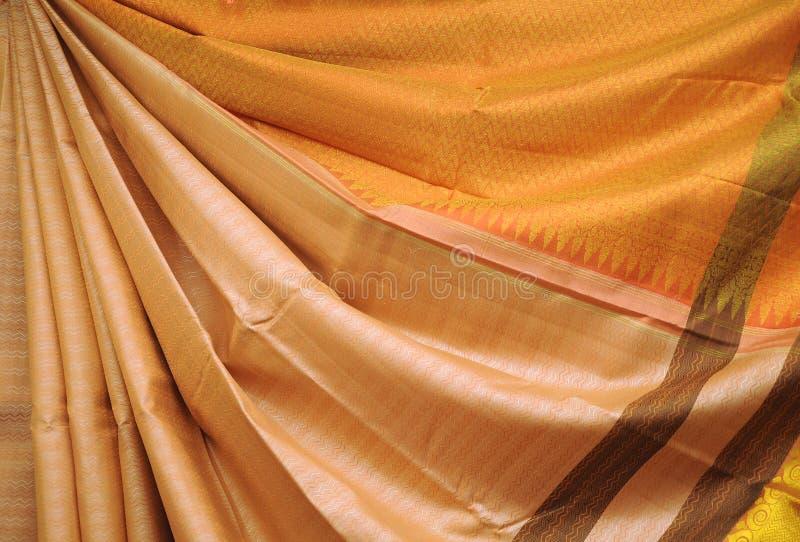 Projeto do Saree imagens de stock