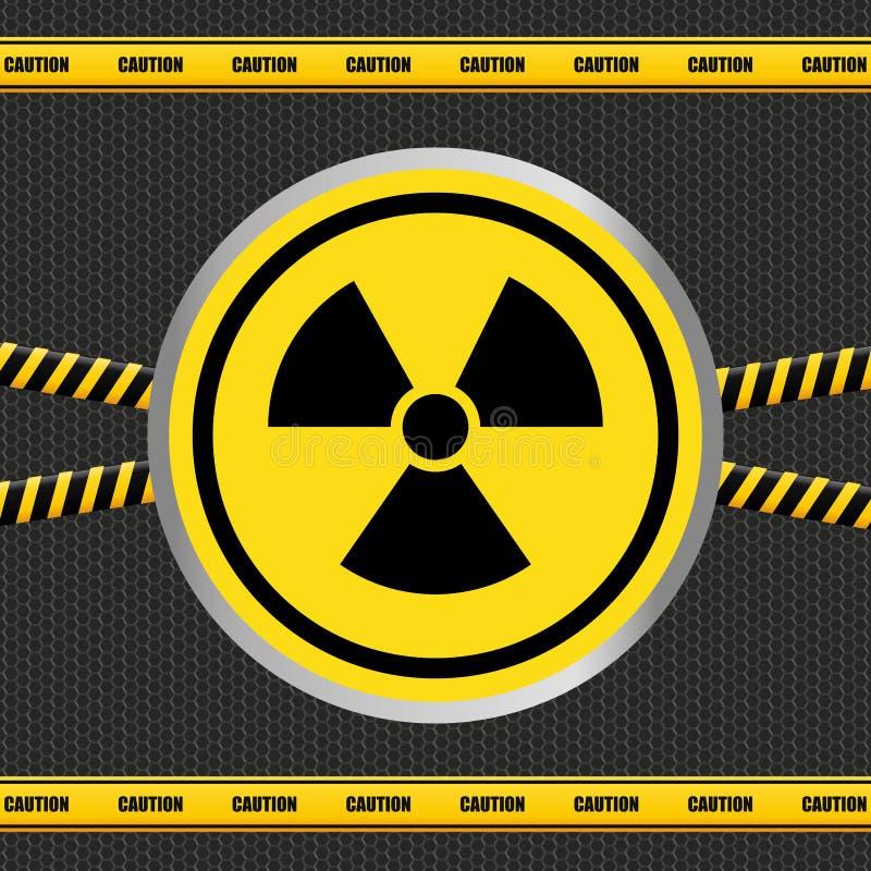 Projeto do sinal de aviso ilustração do vetor