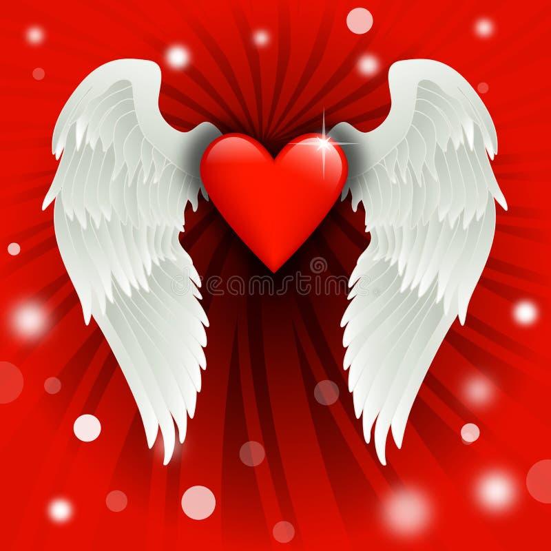 Projeto do Valentim ilustração stock