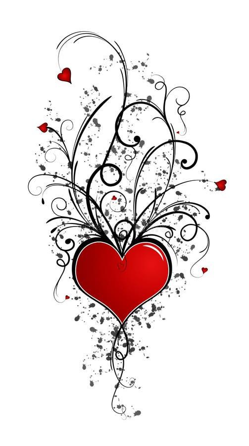 Projeto do Valentim (incl do vetor) imagens de stock royalty free