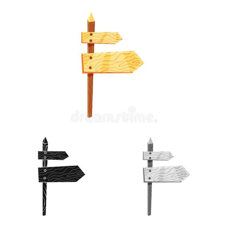 Projeto do vetor do ícone do signage e da seta Ajuste do símbolo de ações do signage e das rosas para a Web ilustração royalty free