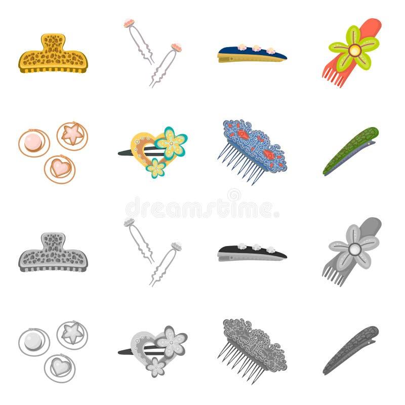 Projeto do vetor do logotipo da beleza e da forma Ajuste da beleza e do s?mbolo de a??es f?mea para a Web ilustração stock