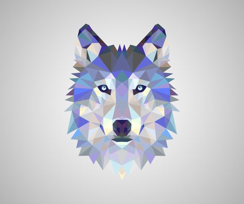 Projeto do vetor do logotipo do Fox ilustração stock