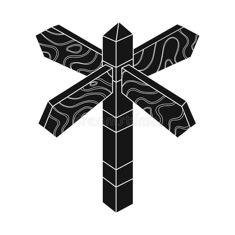 Projeto do vetor do logotipo do signage e do sinal o ilustração stock