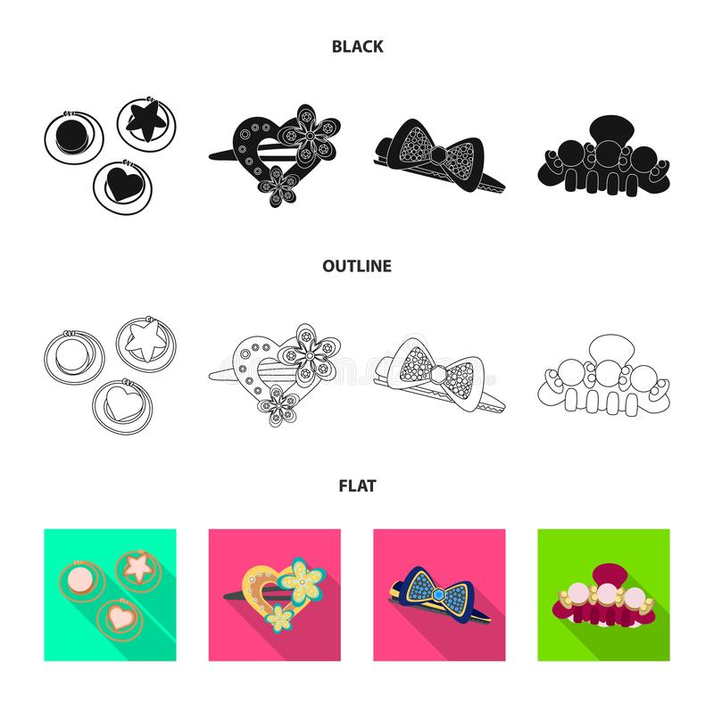 Projeto do vetor do símbolo da beleza e da forma Ajuste da beleza e da ilustração conservada em estoque fêmea do vetor ilustração stock