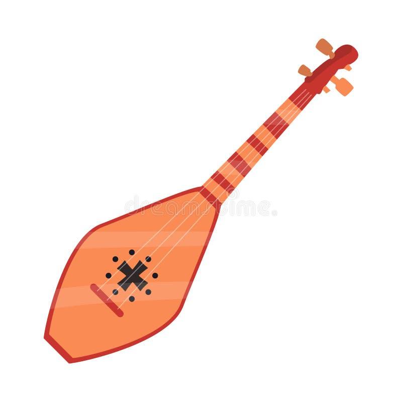 Projeto do vetor do s?mbolo musical e do instrumento Ajuste da ilustra??o conservada em estoque musical e amarrada do vetor ilustração royalty free