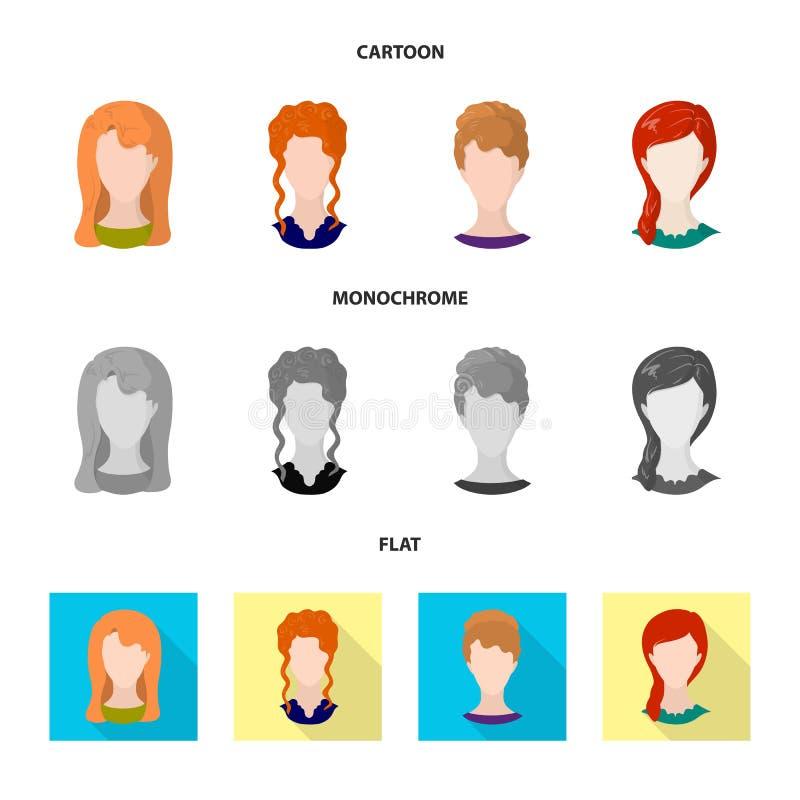 Projeto do vetor do sinal do profissional e da foto Coleção do profissional e da ilustração do vetor do estoque do perfil ilustração royalty free